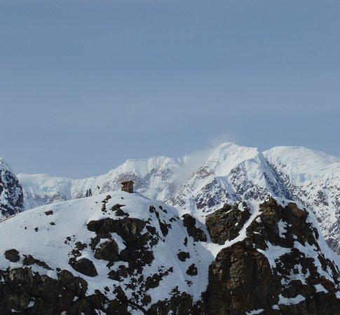 Grand Denali Visite de Talkeetna: We took this pic on the Glacier.