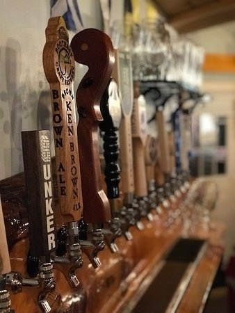 Lobster Pound Restaurant : Funky Bow has my vote for favorite tap handle