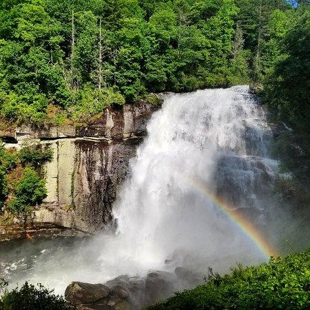 Silver Run Falls Waterfall Cashiers Nc Blue Ridge