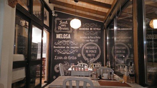 Restaurante O Luar da Foia: Ofertas típicas da região
