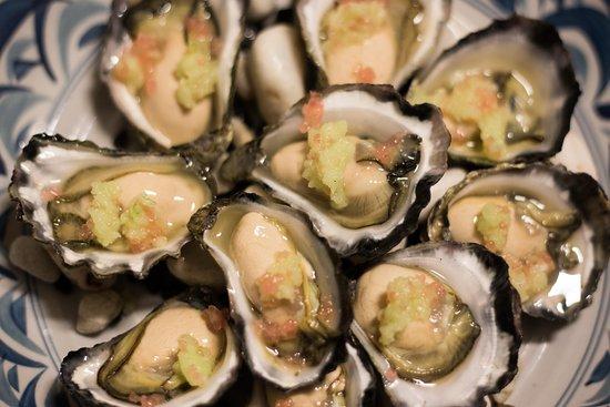I Maccheroni: Sydney Rock Oysters