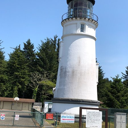 Umpqua River Lighthouse ภาพถ่าย