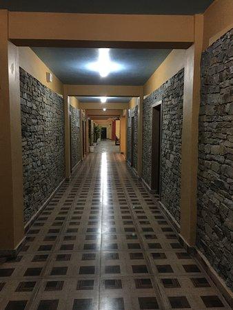 Norphel Retreat: Corridor each floor