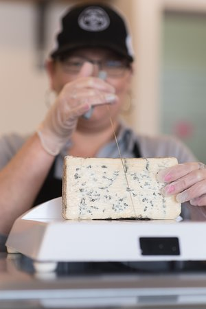 Dover Cheese Shop: Cut fresh off the block!