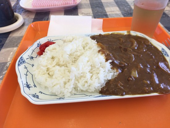 Fukuoka City Hall Main building Employee Dining: 市役所食堂のカレーライス