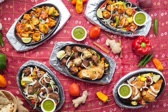 All India Cafe: Sizzling Kebab's