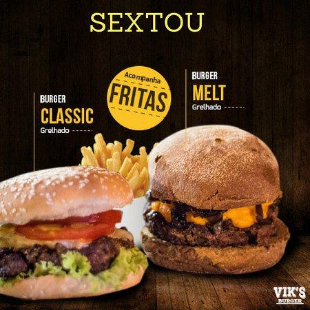 Vik's Burger: Só escolher Classic ou Melt?