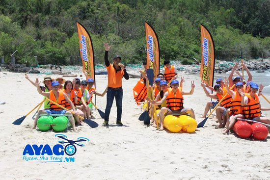 Team Building Nha Trang : team building ayago viet nam