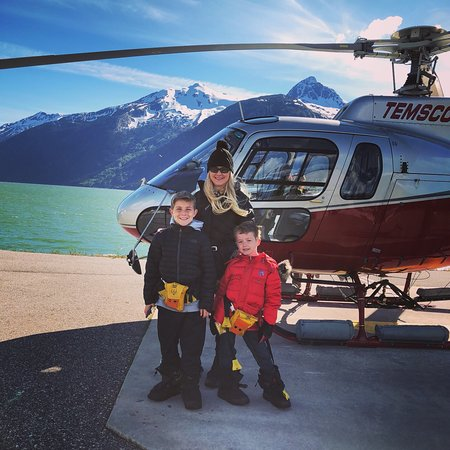 Temsco Helicopters Inc.: View from Mendenhall Glacier