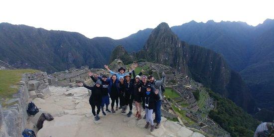 Salkantay Trekking: Machu Picchu group pic