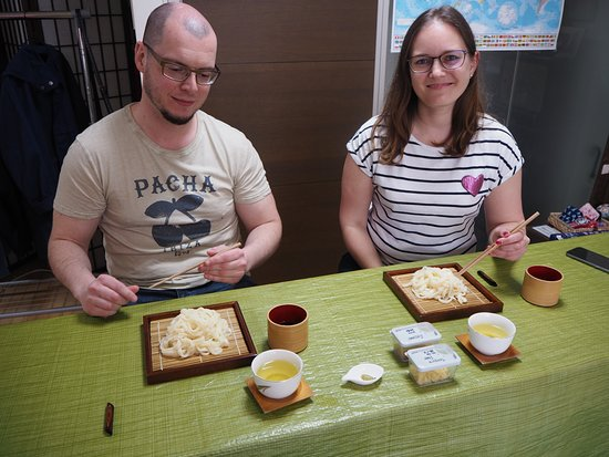 Wakalture Experience -Japanese Calligraphy and Cooking: Ready to eat!!