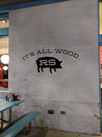 Rodney Scott's BBQ: outside sign