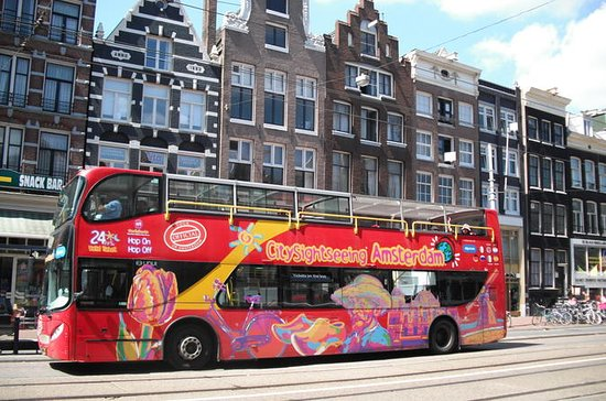 Amsterdam hop-on hop-off tour, naar ...