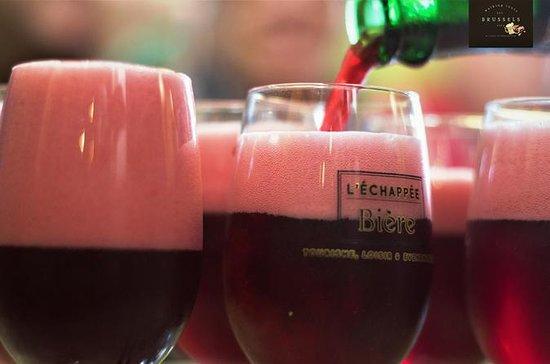 Bierprobentour in kleiner Gruppe in Brüssel