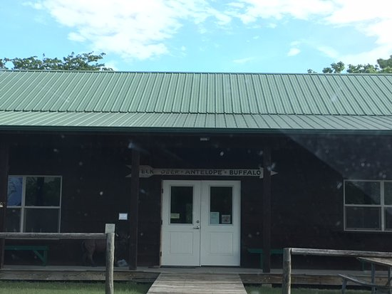 Maxwell Wildlife Refuge : Gift shop, museum, restrooms, and payment center.