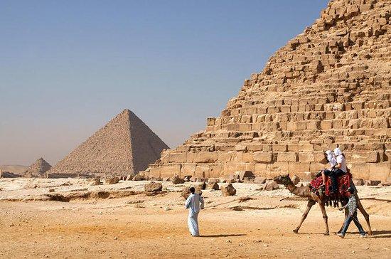 Tour de dia das pirâmides do Cairo...