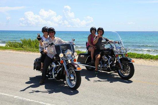Cozumel Motorcykel Tour ombord en ...
