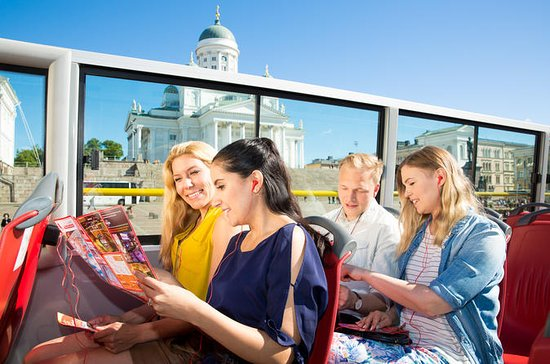 Helsinki 48-Hour Hop-On Hop-Off Bus...