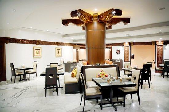 Andhra Ruchulu: interior of the restaurant