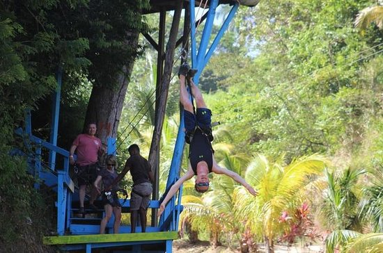 Full-Day Zipline Adventure och Beach ...