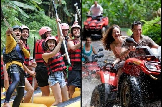 Combination White Water Rafting & ATV...