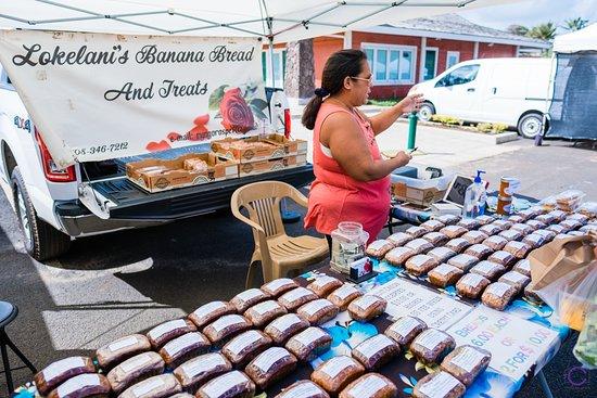 椰子市场照片