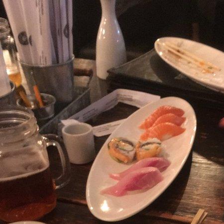 Mikko Sushi: Salmon and assorted Sushi