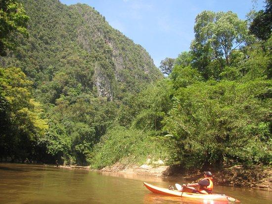 Semadang Kayak: Water fall