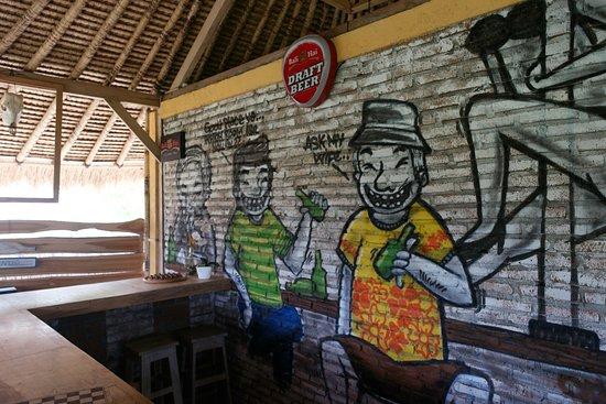 Kuta Cabana Eco Lodge: The Other Place chilling