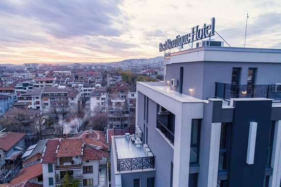 Best Boutique Hotel: Stara Zagora from the sky! Enjoy this spectacular view above the hotel!