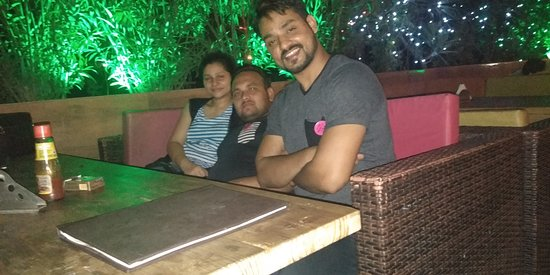 Night Out Kitchen Cafe Roof Top: dhamal with my besty