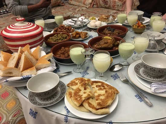 Morocco Immersion Tours & Adventures : One of our favourite meals - Thanks Hicham!!!