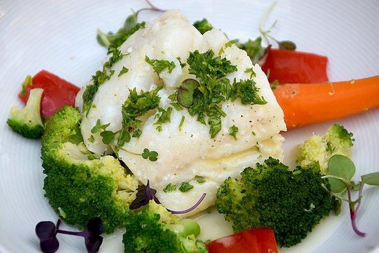 Guxtos : Codfish fillet with veggies