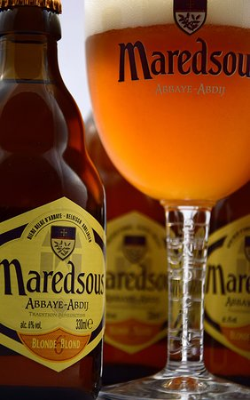 Guxtos : One of our beers: Maredsous Blonde