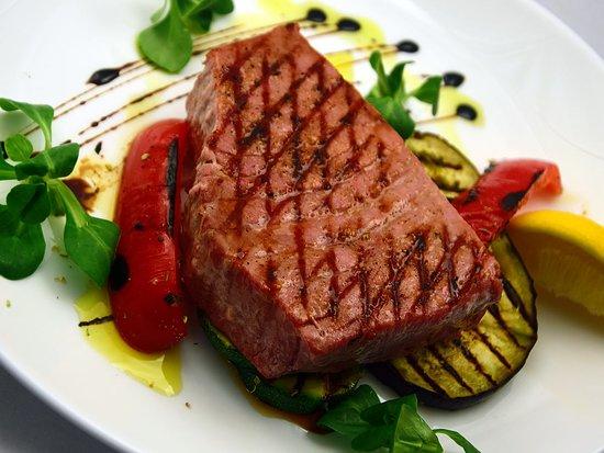 Guxtos : Tuna fillet with veggies