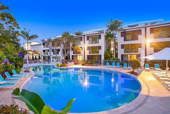 Gay noosa accommodation sunshine coast queensland australia bed
