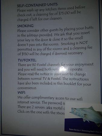 A & A Motel Proserpine : Free Wifi.