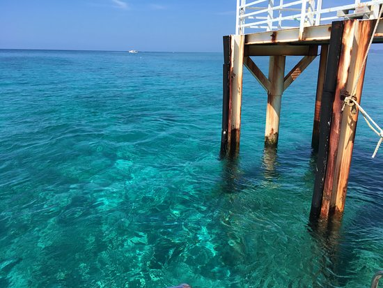 Nagannu Island: clear water