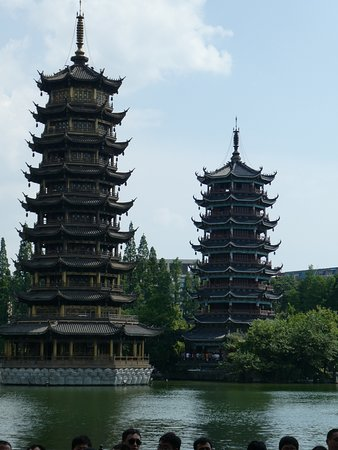 Wendy Wu Tours-Day Tour: The Sun and Moon Pergodas at Guilin
