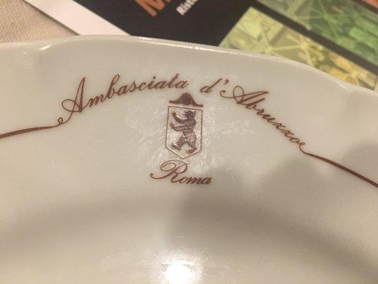 Ambasciata d'Abruzzo: IL PIATTO