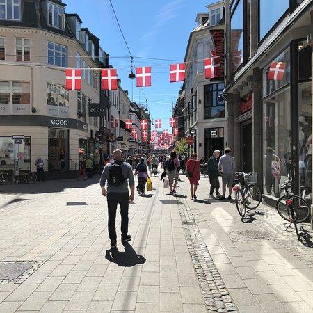 步行购物街照片