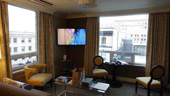 Mark Spencer Hotel: Sitting Area