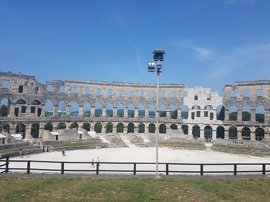 Pola, Croazia: Amfitheater van Pula