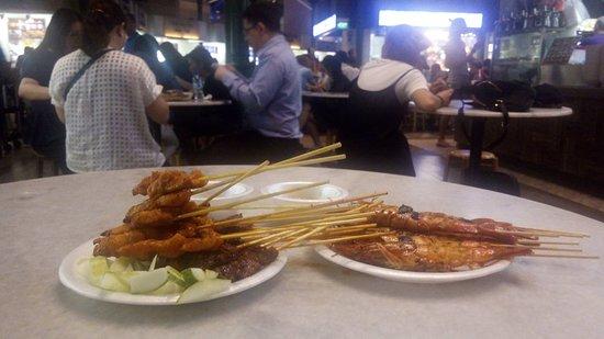 Best Satay No 7 & 8 - Set A (10串雞、10串牛、6串蝦)