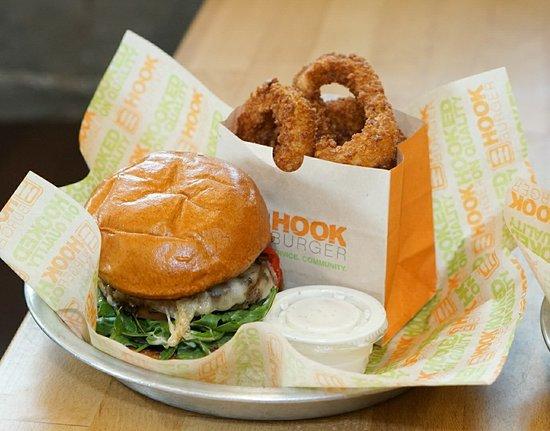 写真Hook Burger枚