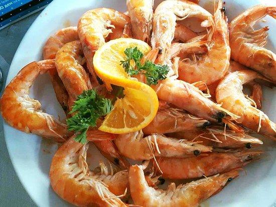 Jadica Fish & Grill: Shrimps