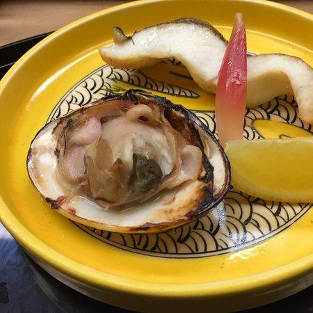 Tsuru Yoshi: 焼き物(ハマグリ、さわら)