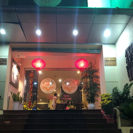 Hotel Equatorial Ho Chi Minh City: Great massage place