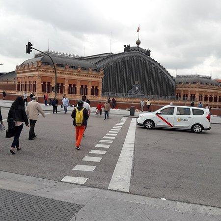 阿托查火车站照片