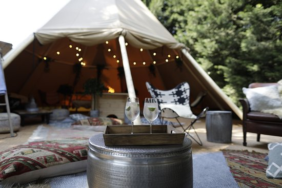 The Victoria Pub & Brasserie : Our amazing new tipi